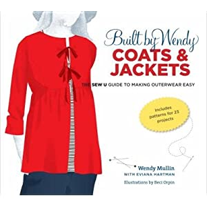 (BUILT BY WENDY COATS & JACKETS)Built by Wendy Coats & Jackets: The Sew U Guide to Making Outerwear Easy [With Pattern(s)] BY Mullin, Wendy[Author]Hardcover