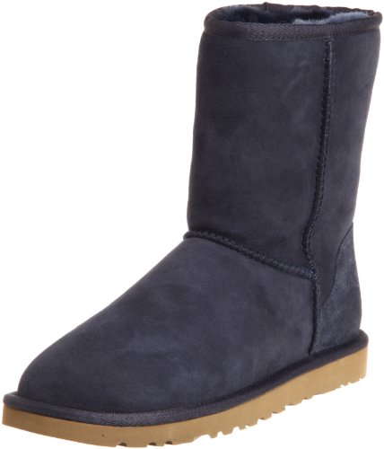 UGG Australia Womens Classic Short Boot Navy Size 8