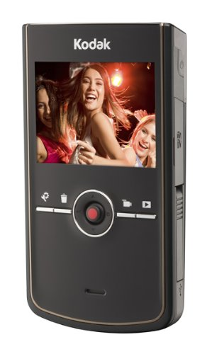 Kodak Zi8 HD Pocket Video Camera - Black
