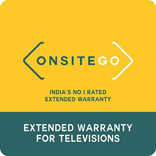 OnsiteGo 1 Year Extended Warranty for TVs from Rs. 100001 to Rs. 170000