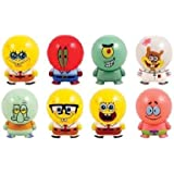NEW!! Spongebob Squarepants Buildable Figures Set of 8 Collectibles Figurines