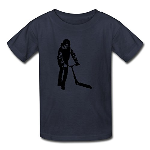 Design Xx-large Shirts Kids Kick Scooter Custom T-shirt
