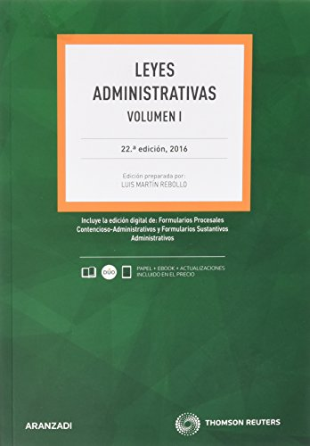 Leyes Administrativas - 2 Volúmenes (Papel + e-book) (Código Profesional)