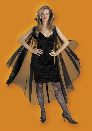 Cape, 58'' Black Sheer