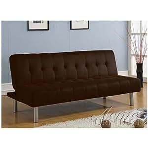 ACME 05591 Chocolate Microfiber Adjustable Sofa