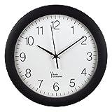 Hama-Funk-Wanduhr-PG-300-automatische-Zeitanpassung-automatische-Zeitumstellung-von-Sommer-und-Winterzeit-modernes-Ziffernblatt-schwarz
