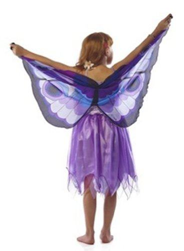 Douglas Toys Childrens' Purple Butterfly Dreamy Dress-up Costume - Medium
