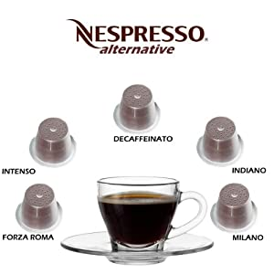 50 Alternative Nespresso Capsules Special Mixed Variety