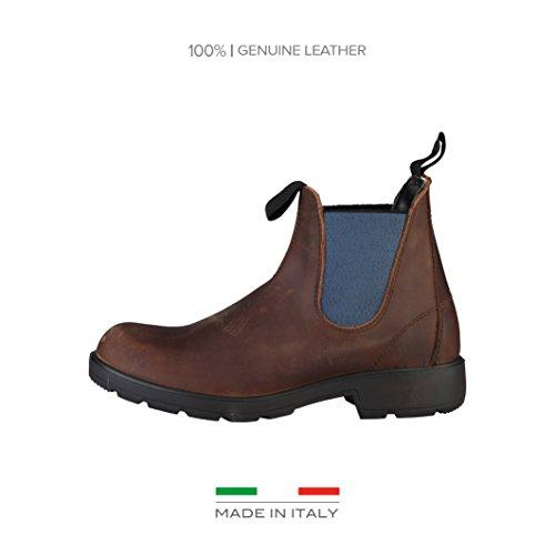 Made In Italia Uomo Shoes Stivali chelsea marrone Size: EU 43