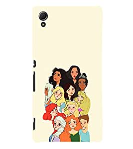 EPICCASE Gang of Toons Mobile Back Case Cover For Sony Xperia Z4 Mini / Z4 Compact (Designer Case)