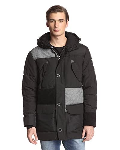 Desigual Men's Insulated Parka with Hood