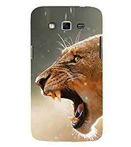 Tiger 3D Hard Polycarbonate Designer Back Case Cover for Samsung Galaxy Grand I9082 :: Samsung Galaxy Grand Z I9082Z