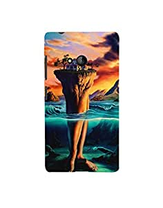 Aart Designer Luxurious Back Covers for Nokia 540 + Flexible Portable Thumb OK Stand by Aart Store.