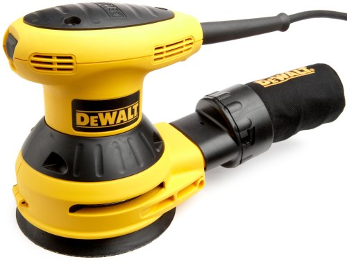 Factory-Reconditioned DEWALT D26451KR 3 Amp 5-Inch Random Orbit Sander with Cloth Dust Bag