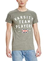Varsity Team Players Camiseta Manga Corta Union (Verde)