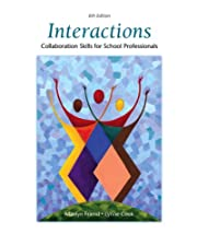Interactions Collaboration Skills for School Professionals by Marilyn Friend