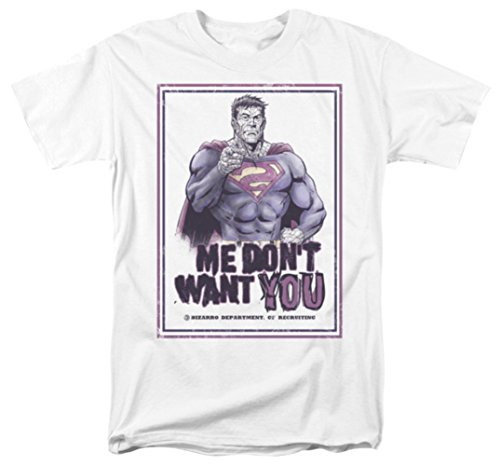 Superman: Don't Want You T-Shirt