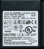 Skynet AC Adapter Part NO. 21D0315 (LMK-U15A)