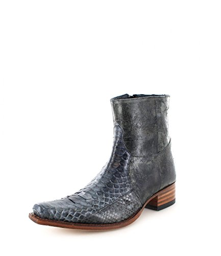 Sendra Boots 5701P, Stivali uomo, Grigio (Piton Gris Negro), 39 EU
