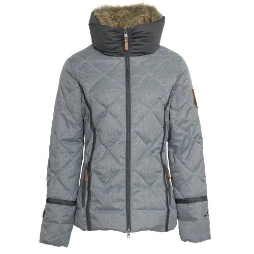 HV Polo Marta Damen Winter-Jacke grey melange – grau günstig