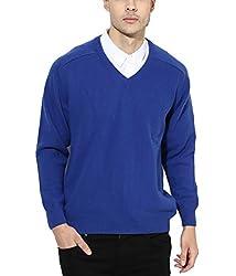 Super weston Plain Blue sweater (Large)