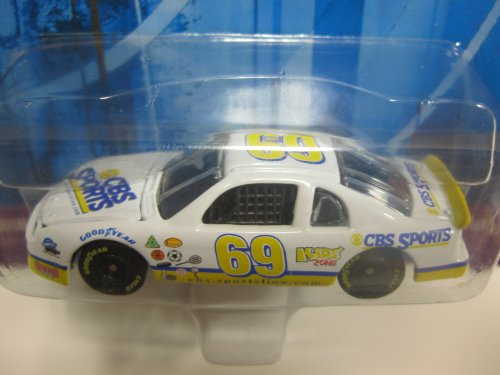 "Johnny Lightning "" .com "" (dot com) Racers - #69 CBS SPORTS"