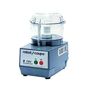 Robot Coupe R101 Commercial Food Processor with 2.5 Qt Clear Bowl by Robot Coupe