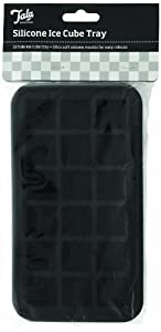Tala Silicone Ice Cube Tray, 18 Hole, Black