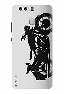 Noise Designer Printed Case / Cover for Huawei P9 / Automobiles / Bike Design