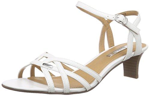 ESPRITBirkin Sandal - Sandali a Punta Aperta Donna , Bianco (Weiß (100 white)), 38