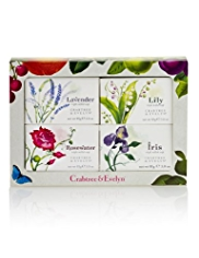 Crabtree & Evelyn® Floral Triple Milled Soap Collection