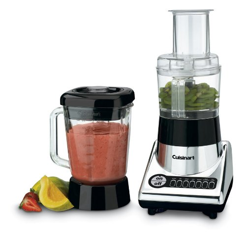 Best Cuisinart Duet PowerBlend Blender and Food Processor 7 Speeds and 52 Oz Blender Jar, 3 Cup Work Bowl and Ice-Crusher and Pulse Buttons, Includes Stainless-Steel Chopping Blade, Chrome and Black Finish  Best Offer