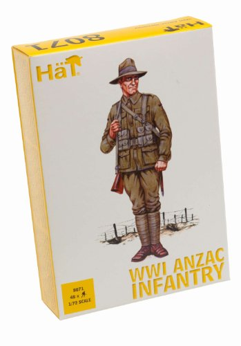 Hat Figures - ANZAC Infantry - HAT8071
