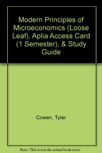 ECON 2304 : INtroduction to Microeconomic Principles - UH