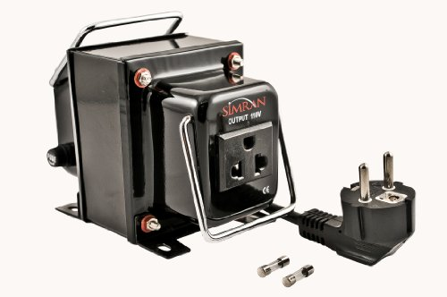 Simran THG-5000 5000W CE Certified Step Down Voltage Transformer Converts 220-volt to 110-volt for International Use