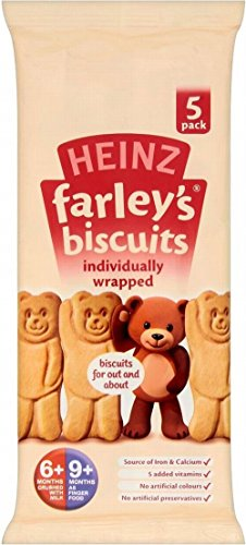 Heinz Farley'S Bear Shaped Biscuits 6Mth+ (75G)