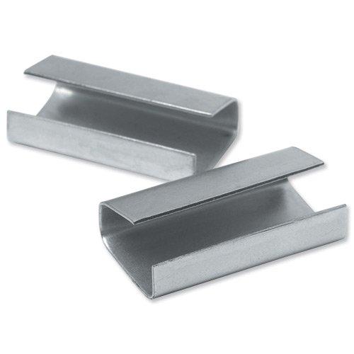 Clip fermeture métal 12x30mm VE=2000 unités Flexocare 83120281