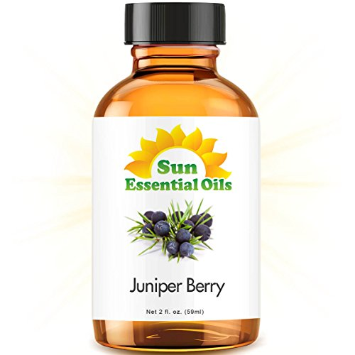 Juniper Berry (2 fl oz) Best Essential Oil - 2 ounces (59ml)