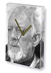 ALEC GUINNESS - Canvas Clock (A4 - Signed by the Artist) #js001