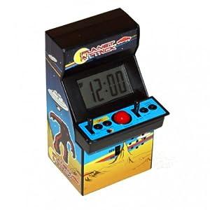 Arcade Machine Spielautomat Wecker - Planet Attack