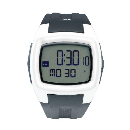 Quiksilver Men's Digital Watch M159DR-WHT With Polyurethane Strap