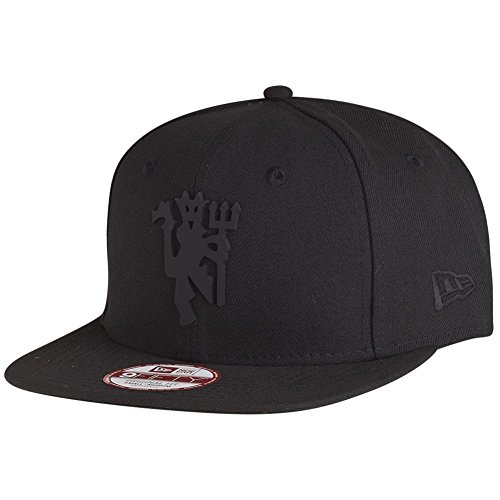New Era 9fifty Hat Manchester United F.C. Soccer League Club Black Devil Fitted Cap (Medium/Large) (Manchester United Hats And Caps compare prices)