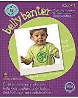 Belly Banter HOLIDAYS Onesie Stickers