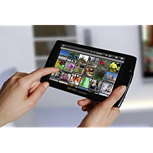Archos 7 8 GB Home Tablet with Android (Black)