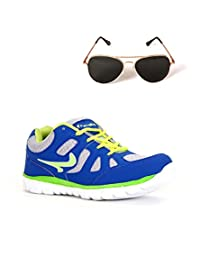 Elligator Sports Shoes With Lotto Aviator Sunglass - B00WSDR4NS