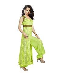 Khazana Women's Unstitched Dress Material (khazana-kag-fresh-10006_Green_Free Size)