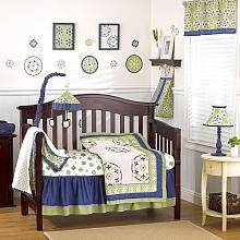 Cocalo Moss Crib Bedding