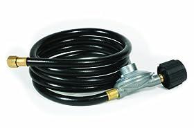 Camco 57704 Low Pressure Gas Regulator with 8' Hose
