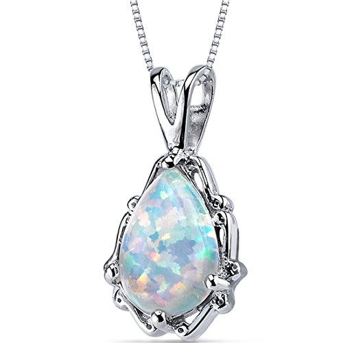 revoni-opal-pendant-necklace-sterling-silver-pear-shape-150-carats