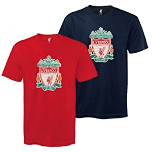 Liverpool FC Official Mens Crest T-Shirt Football Gift (RRP £14.99!) XXL from Liverpool